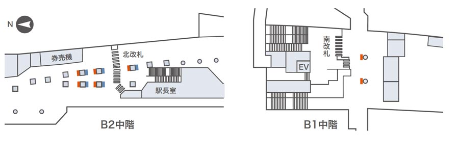 天満橋ネットワークビジョン掲出位置図