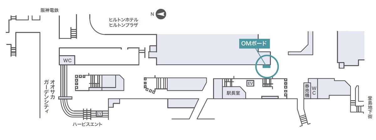 OMボード掲出位置図