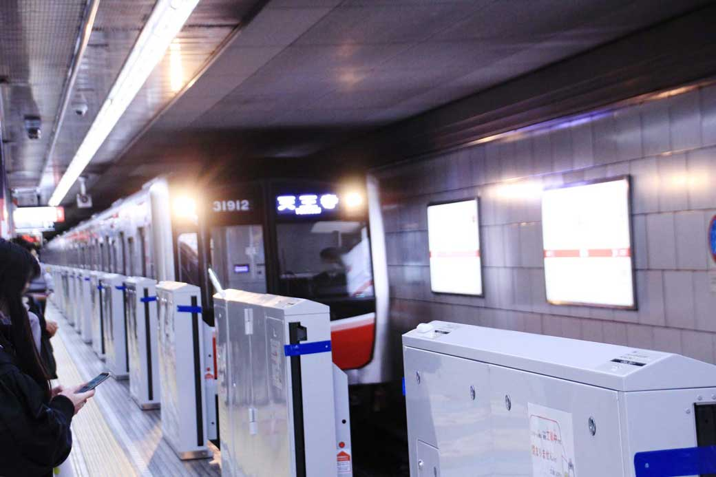 Osaka Metro交通広告イメージ