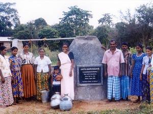 【スリランカ】アヌラダプラ地区ガレンビンドゥヌウェワ村