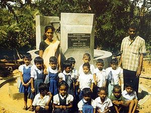 【スリランカ】マヒヤンガナヤ地区ティッサプーラ・ヤヤ01村
