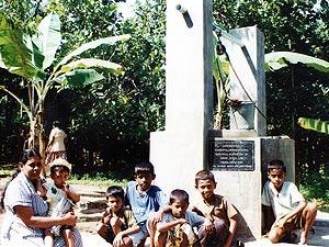 【スリランカ】ガンパパ地区アンバガハヘナ村