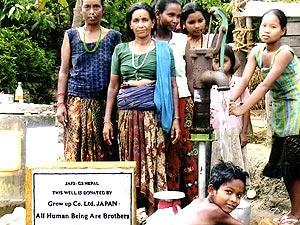 【ネパール】ルンビニ県ノールパラシィ郡ピトゥリ村4地区ブッダウリクナ