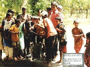 【バングラデシュ】ダッカ管区ジャマルプール県ジャマルプール地区ビスノプール村