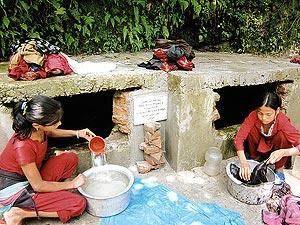 【ネパール】バグワティ県カブレパランチョーク群トゥクチャ ナラ村