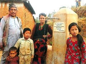 【ネパール】バグワティ県シンドゥパルチョーク郡ボテシパ村バドゥレタール