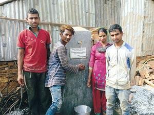 【ネパール】第3州シンドゥパルチョーク郡インドラワティG.P.Word No.10バダレ村