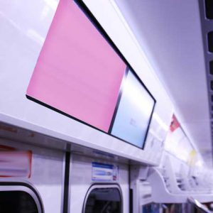 Osaka Metro車内ビジョン・御堂筋ビジョン写真