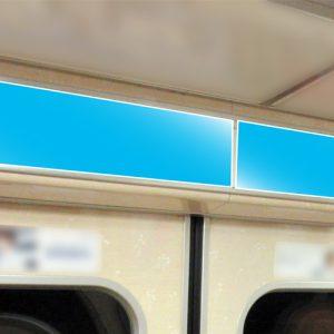 Osaka Metro 長堀鶴見緑地線ドア上ポスター写真