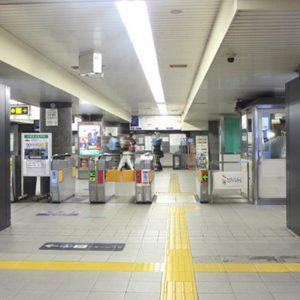 大阪メトロ肥後橋駅ネットワークビジョン写真