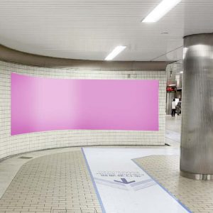 Osaka Metroなんば上りホームシート写真