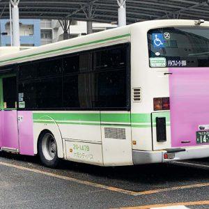 大阪シティバス・パートラッピング写真
