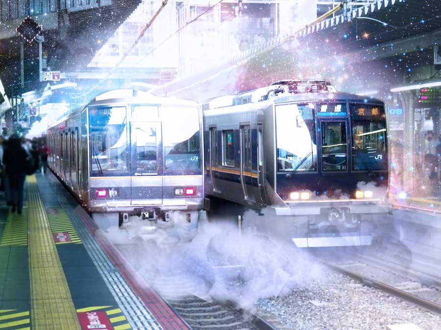 関西JR私鉄交通広告イメージ写真