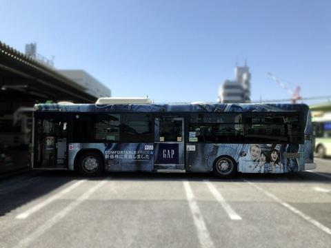 大阪シティバスフルラッピング