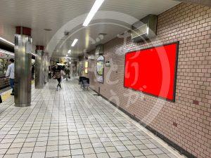 谷町九丁目駅構内図1-210